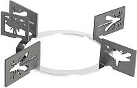 Комплект решеток для варочных панелей Smeg KPDSN75I -