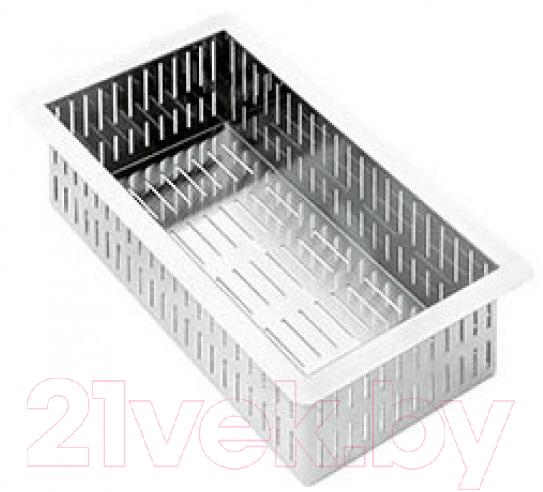 Купить Коландер для мойки Smeg, VSH20Q, Италия, хром, нержавеющая сталь