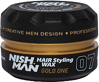 Воск для укладки волос NishMan Gold One 07 (150мл) -