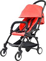 Детская прогулочная коляска LaBaby Yoya (красный) -