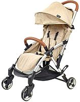 Детская прогулочная коляска LaBaby Vinng (бежевый) -