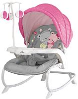 Детский шезлонг Lorelli Dream Time Pink Gfey Za Za (10110061817) -