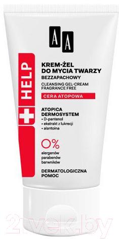 Купить Крем для лица AA, Help Atopic Skin увлажняющий (50мл), Польша, Help (AA)