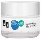 Купить Крем для лица AA, Collagen Hial+ дневной увлажняющий свежесть + энергия кожи (50мл), Польша, Collagen Hial+ (AA)