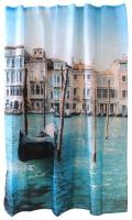 Шторка-занавеска для ванны Рыжий кот Curtain-Venice / 000873 -