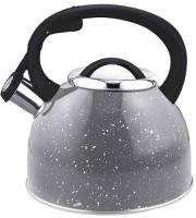 Чайник со свистком Mallony Arte 005171 (серый с белыми точками) -
