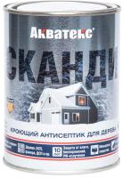 Антисептик для древесины Акватекс Сканди (750мл, лакрица) -