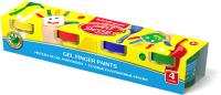 Пальчиковые краски Erich Krause ArtBerry / 41751 (4цв) -