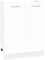Шкаф под мойку Кортекс-мебель Корнелия Лира НШ60м (белый) -