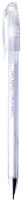 Ручка гелевая Crown HJR-500P (пастель белая) -