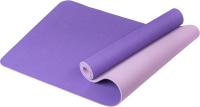 Коврик для йоги и фитнеса Sundays Fitness IR97503 (фиолетовый/сиреневый) -
