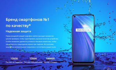 Смартфон Realme 6 8/128GB / RMX2001 (синий)