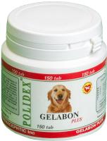 Кормовая добавка для животных Polidex Гелабон плюс / 5929 (150 таблеток) -