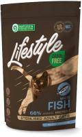 Корм для кошек Nature's Protection Lifestyle Grain Free White Fish Sterilised / NPLS45801 (400г) -