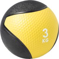 Медицинбол Sundays Fitness IR97801 (3кг, желтый/черный) -