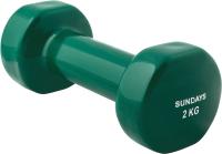 Гантель Sundays Fitness IR92005 (2кг, зеленый) -