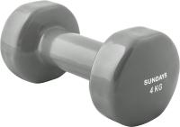 Гантель Sundays Fitness IR92005 (4кг, серый) -