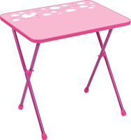 Стол детский Ника СА2/Р Алина 2 (розовый) -