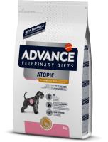 Корм для собак Advance VetDiet Atopic Grain Free с кроликом (3кг) -