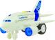Самолет игрушечный WenYi WY720A (инерционный) -