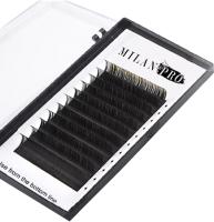 Ресницы для наращивания Milan Pro 1028 MP 0.07/D Микс (16 линий, черный) -