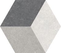 Декоративная плитка Codicer Gres Traffic 3D Hex (250x220) -