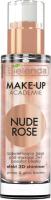 Основа под макияж Bielenda Make-Up Academie Nude Rose 3 в 1 сияющая (30г) -
