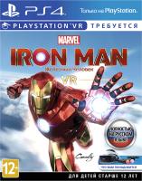 Игра для игровой консоли Sony PlayStation 4 Marvel's Iron Man VR (поддержка VR, русская версия) -