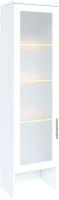 Шкаф навесной Rinner Тиффани М04 (белый текстурный) -