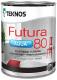 Краска Teknos Futura Aqua 80 Base 3 (900мл, прозрачный) -