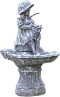 Фонтан скульптурный БЕТОНДизайн Девочка с куклой (0.85м) -