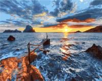 Картина по номерам Picasso Море на закате (PC4050665) -