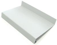 Отлив оконный Добрае акенца 100x1000 (белый) -