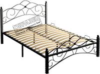 Полуторная кровать Сакура Гарда-3 120 (черный) -