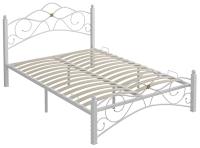 Полуторная кровать Сакура Гарда-3 140 (белый) -