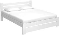 Двуспальная кровать BAMA Palermo (180x200, белый) -