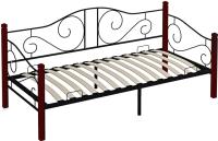 Кровать-тахта Сакура Гарда-7 (вишневый) -