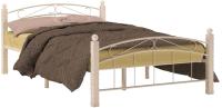 Полуторная кровать Сакура Гарда-15 140 (белый) -