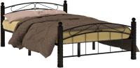 Двуспальная кровать Сакура Гарда-15 160 (черный) -