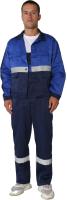 Комплект рабочей одежды ТД Артекс Новатор (р-р 48-50/170-176, грета, синий/василек) -