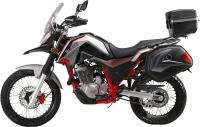 Мотоцикл M1NSK Goose 400 (черный/красный) -