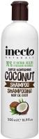 Шампунь для волос Inecto Naturals питательный с маслом кокоса (500мл) -