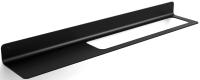 Полка для полотенца Lineabeta 51819DX.18 L (матовый черный) -