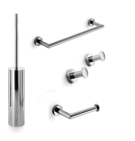 Набор аксессуаров для ванной и туалета Lineabeta Baketo TA-BAKETO FIX (хром) -