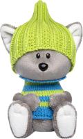 Мягкая игрушка Budi Basa Волчонок Вока в шапочке и свитере / LE15-021 -