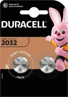 Комплект батареек Duracell Specialty Lithium DL/CR 2032 (таблетка, 2шт) -