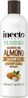 Шампунь для волос Inecto Naturals разглаживающий с маслом миндаля (500мл) -