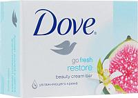 Мыло твердое Dove Инжир и лепестки апельсина (135г) -