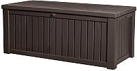 Сундук уличный Keter Rockwood Deck Box / 17197729 (коричневый) -