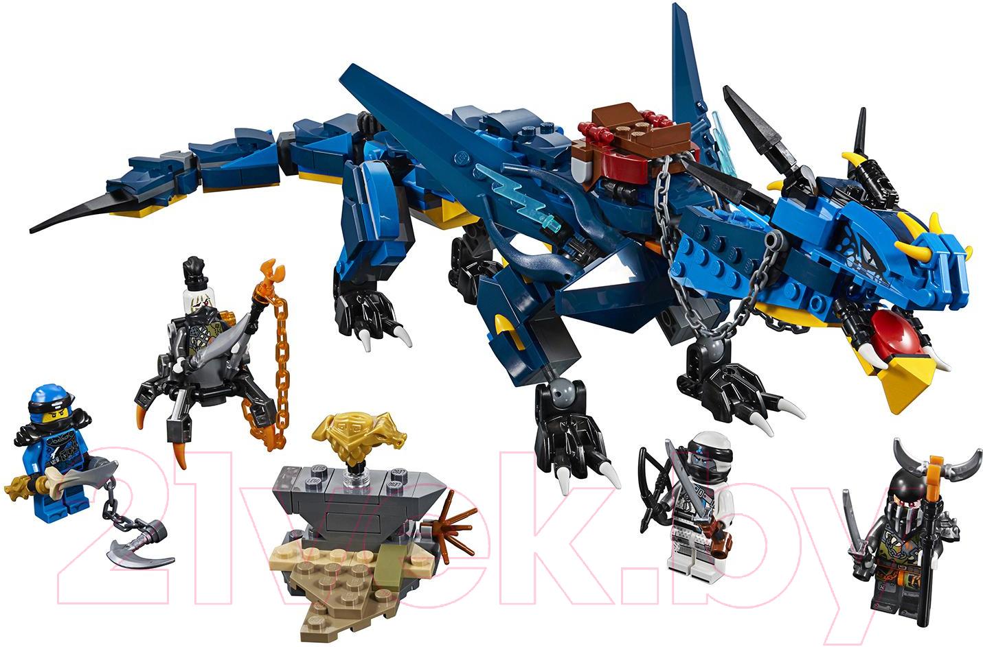 Купить Конструктор Lego, Ninjago Вестник бури 70652, Китай, пластик